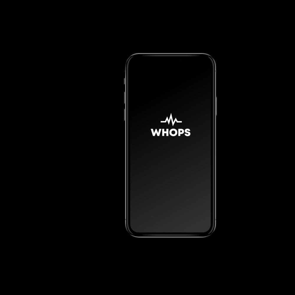 whops iphone